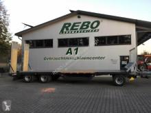 Reboque agrícola Fliegl DTL 300 P AGRAR reboque porta-máquinas usado