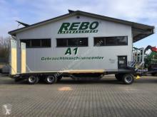 Remolque agrícola Fliegl DTL 300 P AGRAR caja abierta portamaterial usado