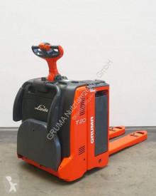 Транспалетна количка с платформа за прав водач Linde T 20 AP/131