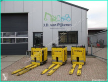 Pallestabler Hyster 3x RP2.0 2 tons electro pallettruck accu 02-2019! siddende styreposition brugt