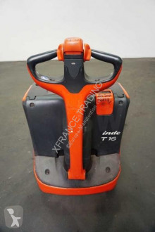 Transpallet guida in accompagnamento Linde T 16 360