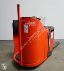 Transpaleta Linde T20 SP de conductor a pie usada