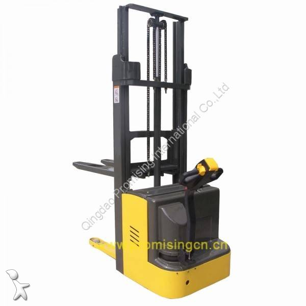 Преглед на снимките Транспалетна количка Dragon Machinery TBC15-25 Electric Pedestrian Pallet Stacker with AC driving motor but without pedal