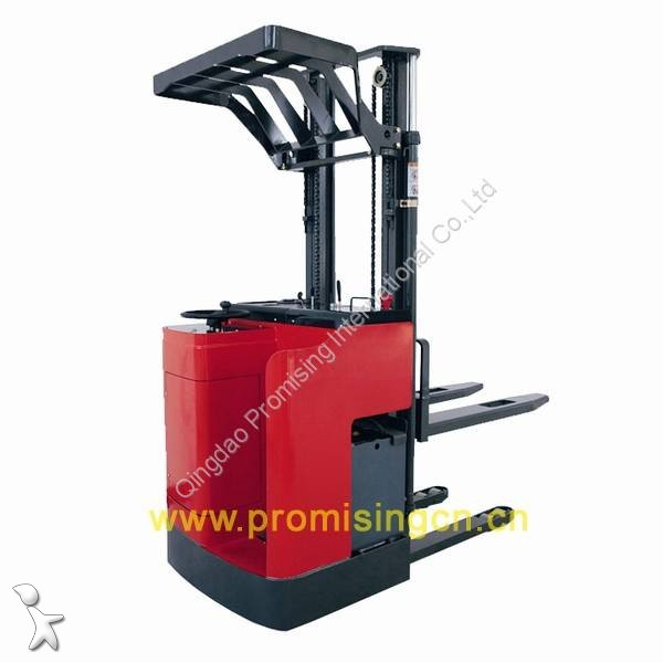 View images Dragon Machinery 1.5T Capacity Steering Wheel Electric Pallet Stacker TBE15-30 pallet truck