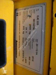View images Jungheinrich EJE 225 EJE 225 pallet truck