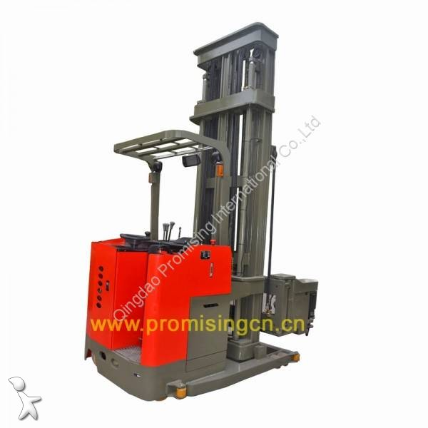 Vedere le foto Stoccatore Dragon Machinery 1.0T Capacity 3-Way Electric Pallet Stacker TC10-55