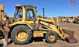Caterpillar 428 backhoe loader