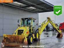 Case 580 Super R telescopic arm backhoe loader