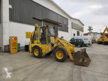Komatsu articulated backhoe loader