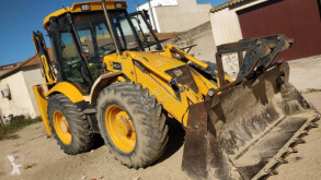 buldoexcavator JCB 4 CX diesel shovel 4-1 with buckets and hammer,cat