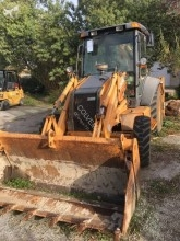 Case rigid backhoe loader 580 Super R +