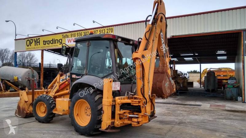 View images Case 580 SR backhoe loader