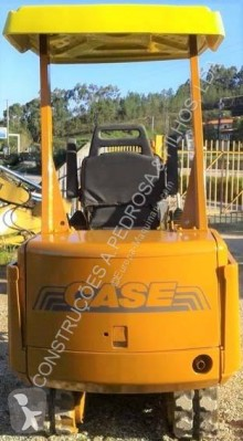 Case mini backhoe loader