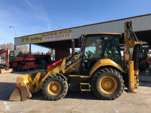 Graaflaadmachine Caterpillar 428 F tweedehands