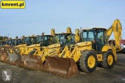 Komatsu WB 93 | JCB 4CX CASE 695 NEW HOLLAND 115 CAT 444 434 tweedehands vaste graaflaadcombinatie