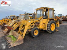 John Deere articulated backhoe loader