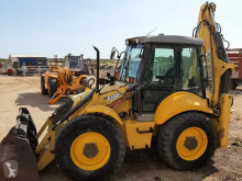 New Holland B 115 tweedehands vaste graaflaadcombinatie