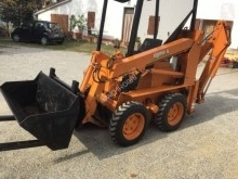 Bobcat used mini backhoe loader