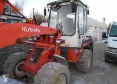 Kubota articulated backhoe loader