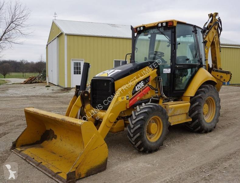 Articulated Backhoe Loader Used Caterpillar 420e Ad N 4968141