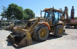 Hydrema rigid backhoe loader