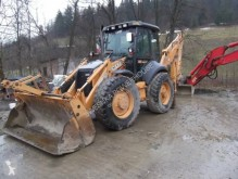 Case articulated backhoe loader 695 SR