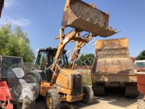 Case 580SLE buldoexcavator rigid second-hand