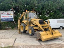 Mini-buldoexcavator Caterpillar 428 4x4 Backhoe Loader with Hammerline