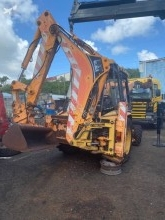 Buldoexcavator rigid Caterpillar 428C 438C