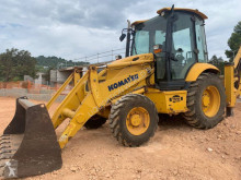 Buldoexcavator Komatsu WB93R backhoe loader (CASE-CAT) second-hand