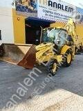 New Holland LB 110 LB 110 tweedehands scharnierende graaflaadmachine