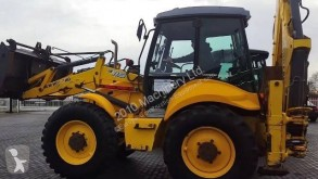 New Holland B 115 4PS used articulated backhoe loader