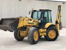 Graaflaadmachine Komatsu WB97S Backhoe loader (hitachi-Volvo) tweedehands