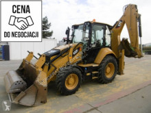 Caterpillar backhoe loader used