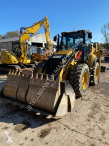 Caterpillar 444 F2 backhoe loader used