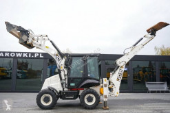 JCB 2 CX II 4x4x4 bucket 4in1 , telescop arm tractopelle rigide occasion