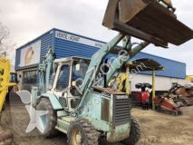 Caterpillar 428B buldoexcavator rigid second-hand