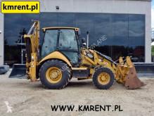 Caterpillar 432F 432 428 JCB 3CX CASE 580 590 VOLVO BL71 TEREX 890 KOMATSU WB93 használt merev alvázas markológép