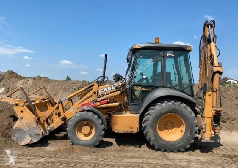 View images Case 580 Super R +  backhoe loader