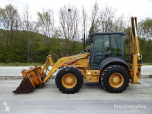 Case 595 SLE backhoe loader used