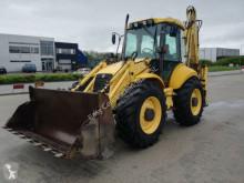 New Holland LB 115 B used rigid backhoe loader