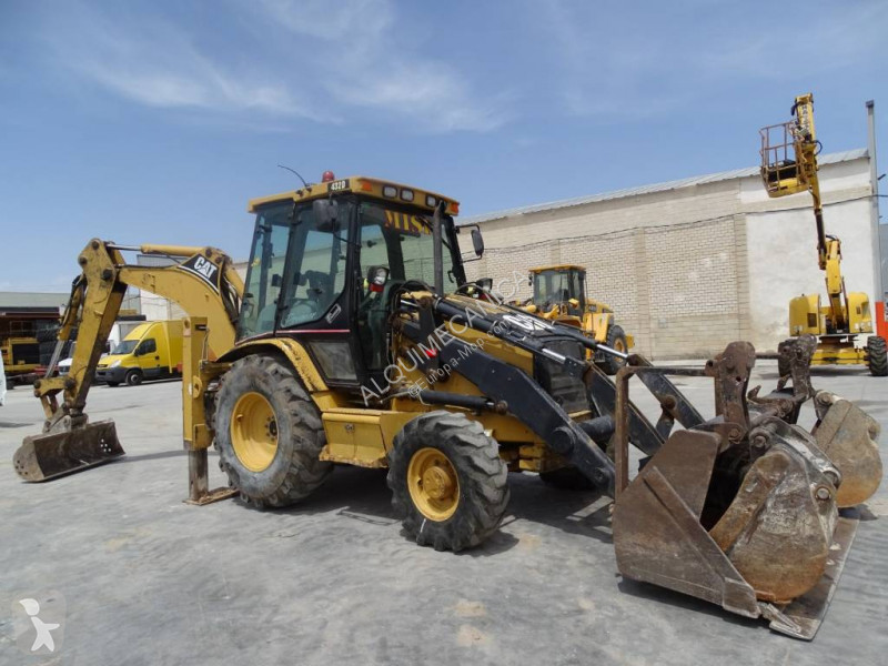 View images Caterpillar 432 D backhoe loader