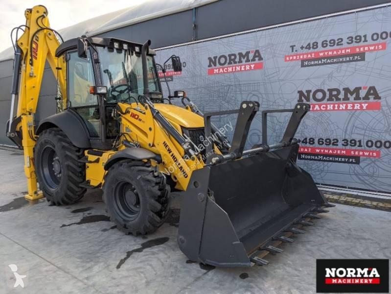 View images New Holland B 110 B B110B 2021 backhoe loader