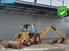 Traktor med grab Case 580 Super K brugt
