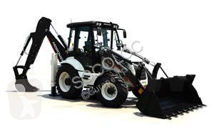 Hidromek rigid backhoe loader 102B