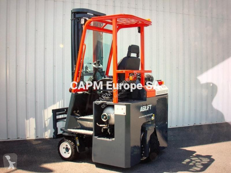 View images Amlift AGILIFT 3000 GPL multi directional forklift