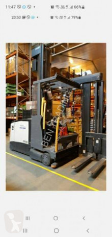 Crown three-way forklift
