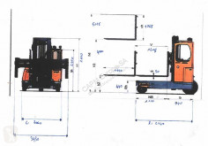 View images Amlift CEL35-11-40 multi directional forklift