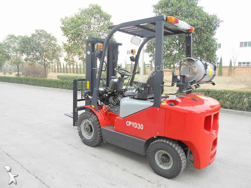 View images Dragon Machinery CPQD30 Forklift