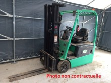 Mitsubishi FB16KT used electric forklift